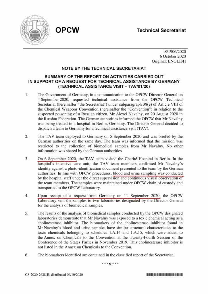Novichok: Documento revela que amostras de sangue dos Skripals podem ter sido manipuladas | Dilyana Gaytandzhieva 8